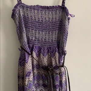 Long purple sundress M